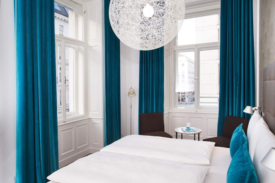 Interiour of Motel One in Vienna