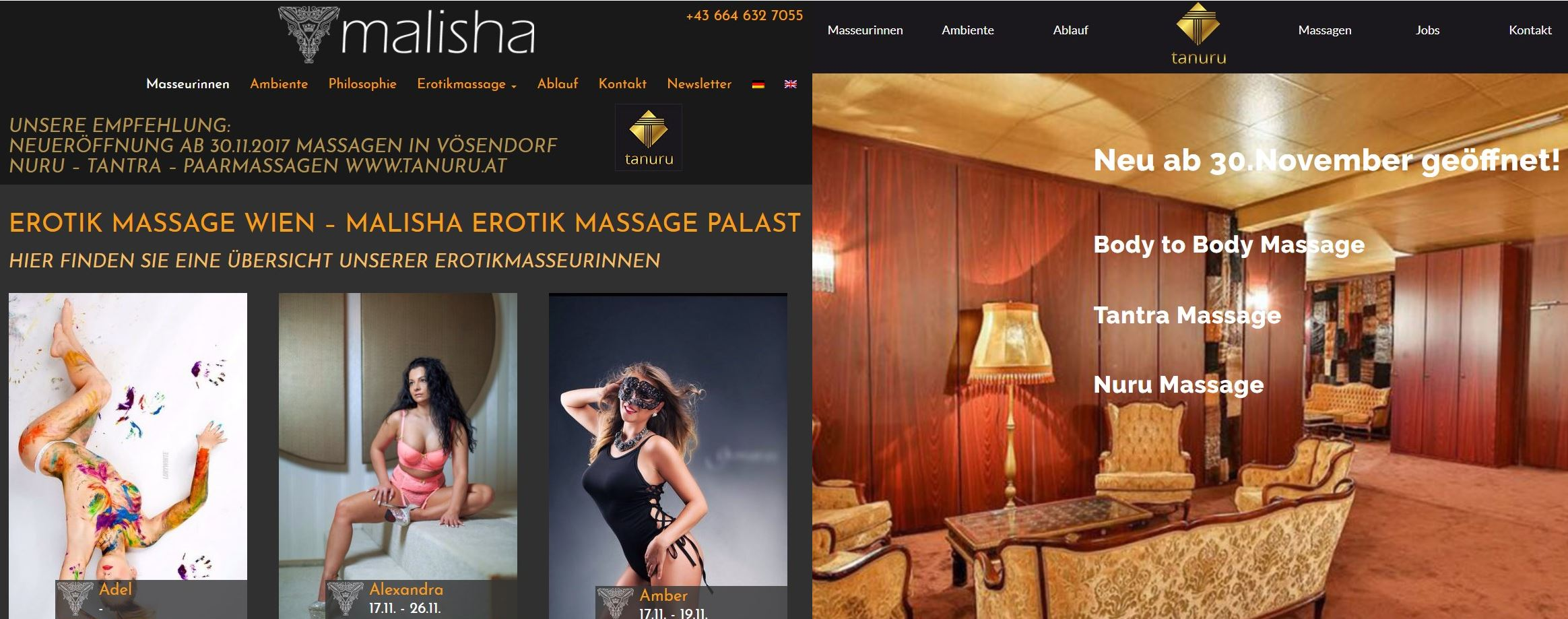 malisha tanuru massage vienna