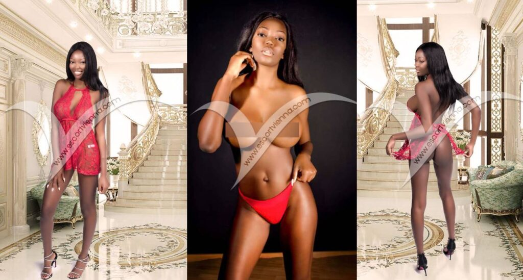 Black escort girl Naomi from Escort Vienna booking agency