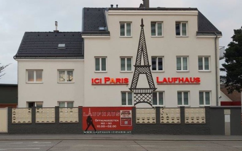 Laufhaus Ici-Paris in Vienna