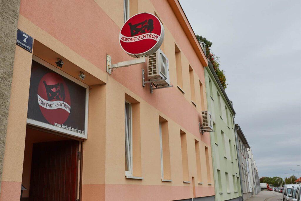Kontakt-Zentrum entrance Vienna Laufhaus