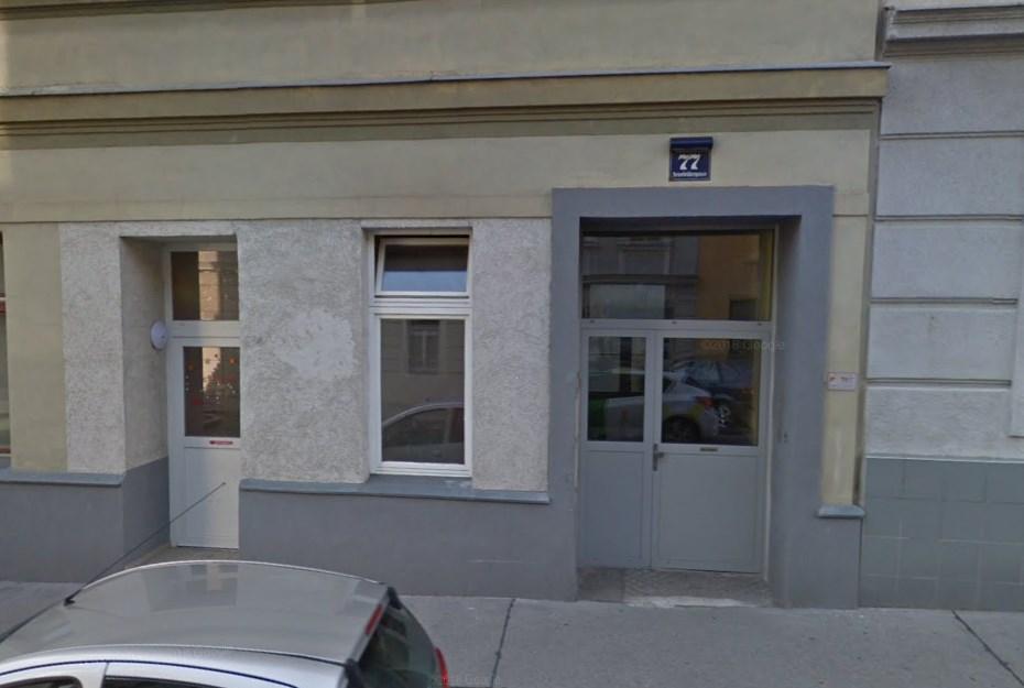 Studio Senefeldergasse 77 Vienna Google Maps, one of the worst studios in Vienna