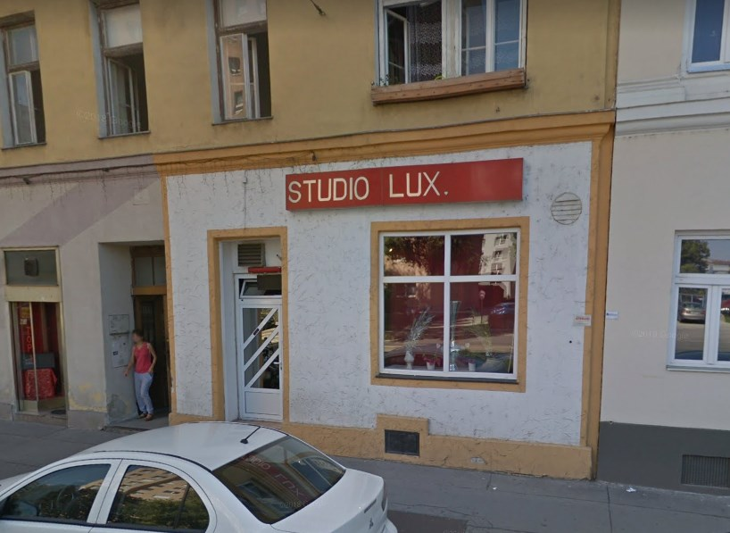 Studio Lux Vienna entrance Google Maps