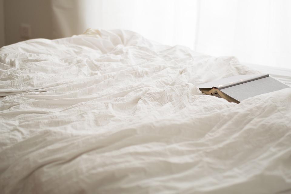 bed in a Vienna apartman