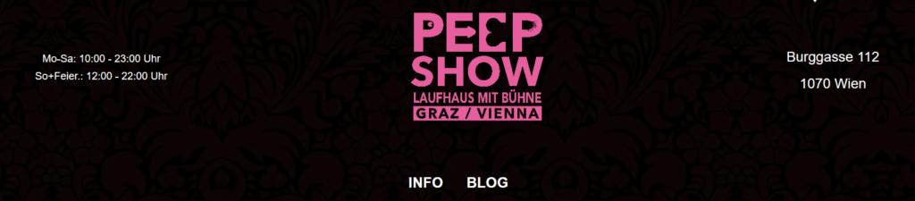 Gloryhole in Wien - Peepshow Burggasse main page